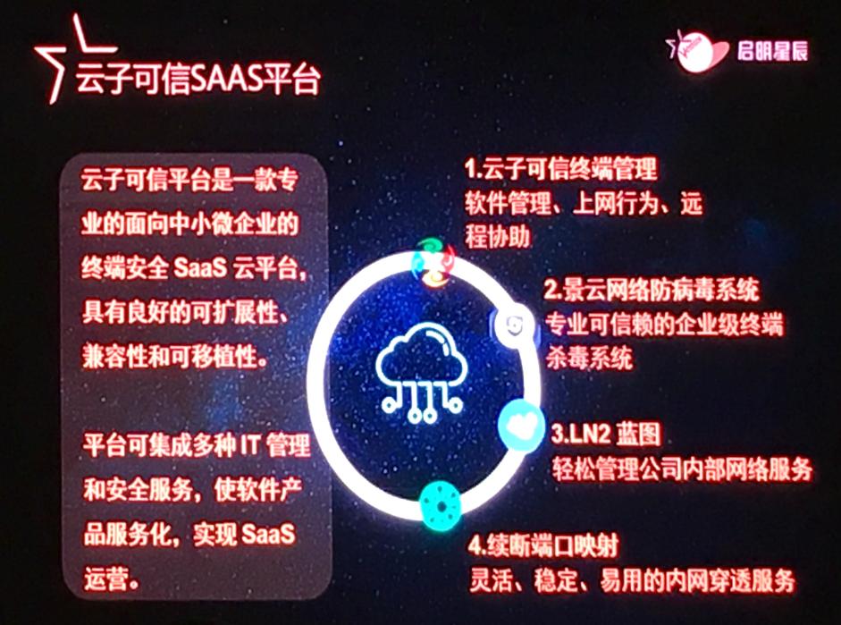 启明星辰(重庆)合作伙伴大会云子可信异军突起
